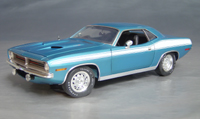 Click image to see more information about our 1970 Plymouth Cuda Blue chase/73/74!