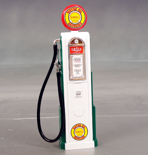 Shell Gas Pump, 1/18th scale