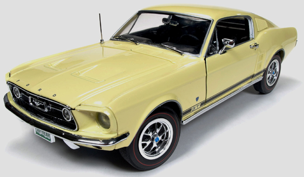 1967  Ford Mustang GT Fastback,