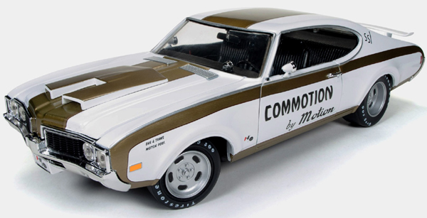 1969 Olds 4-4-2, Hurst Olds, B-M Commotion Drag Car