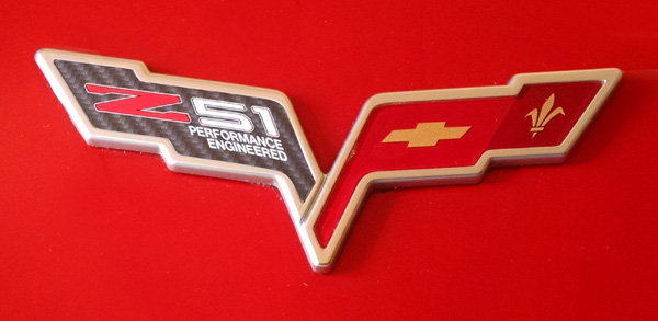 Chevrolet C6 Corvette Z51 Performance Engineered decal!