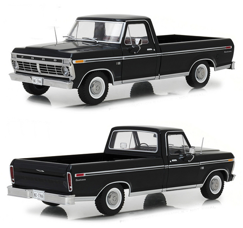 1973 Ford F-100 Custom, 1/2 Ton Pick Up