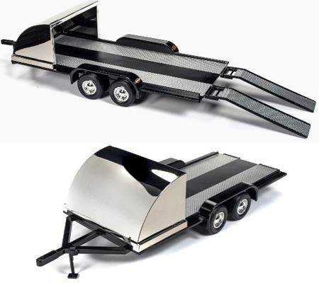Tandem Wheel Car Trailer with Front Shield