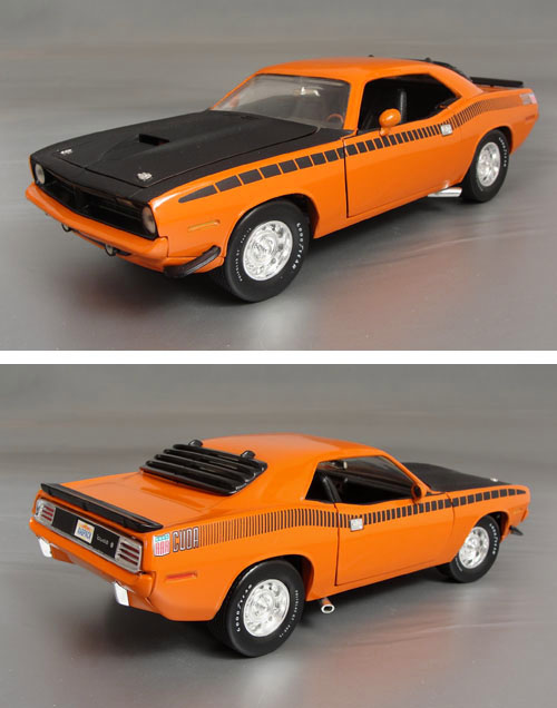 1970 Plymouth Cuda AAR, 340 Six-Pack