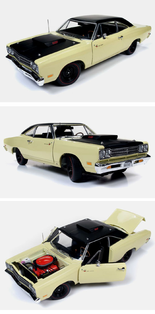 1969 1/2 Plymouth Road Runner 440 6 bbl.