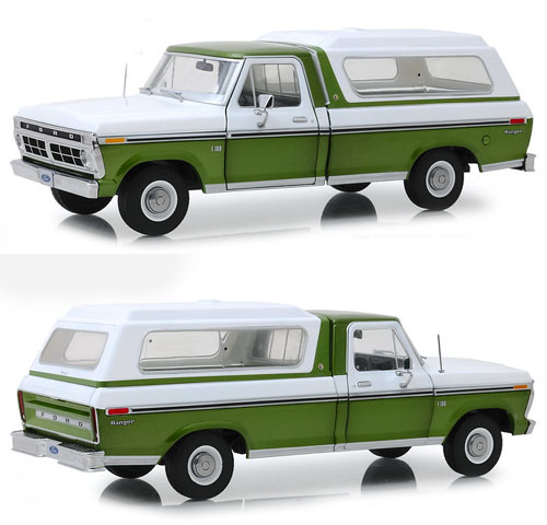 1975 Ford F-100 Pick Up with Topper Shell..!