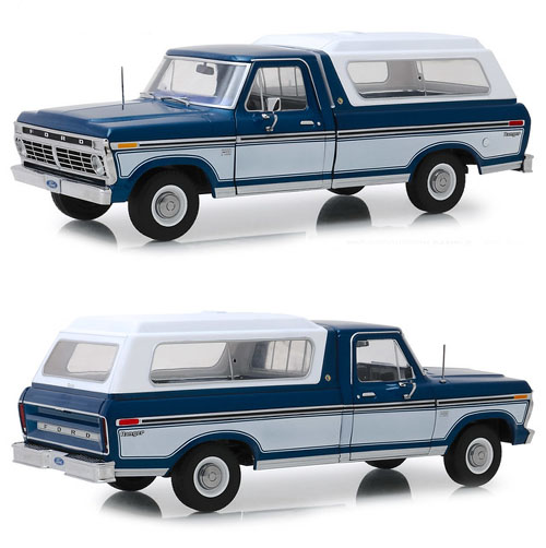 1976 Ford F-100 Pick Up with Topper Shell..!