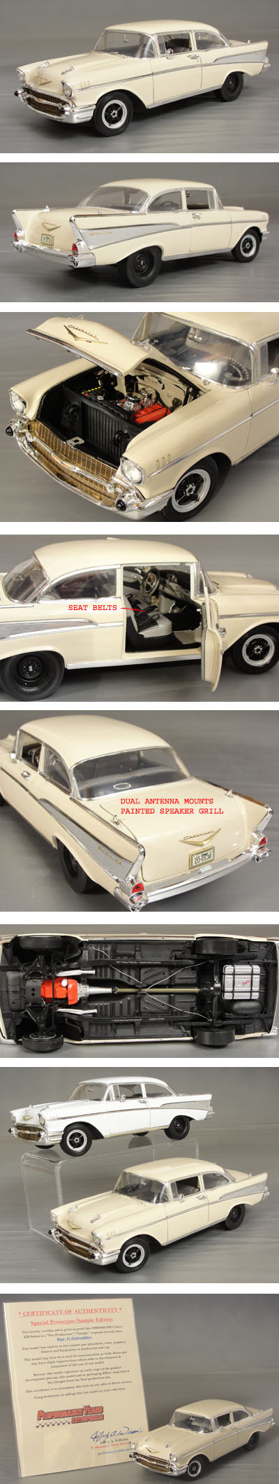 1957 Chevrolet Bel Air * Factory Sample Car *