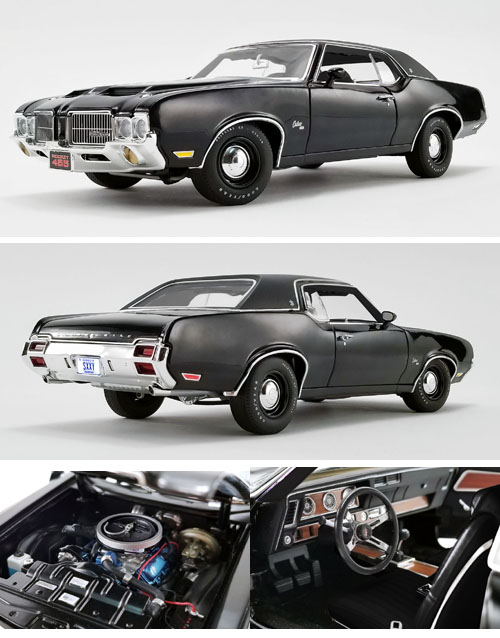 1971 Oldsmobile SX 455 Rocket 4-speed, Triple black