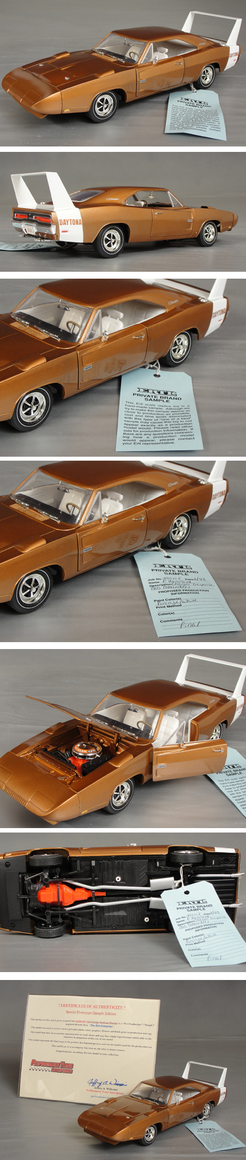 1969 Dodge Daytona Charger, Prototype Sample Car