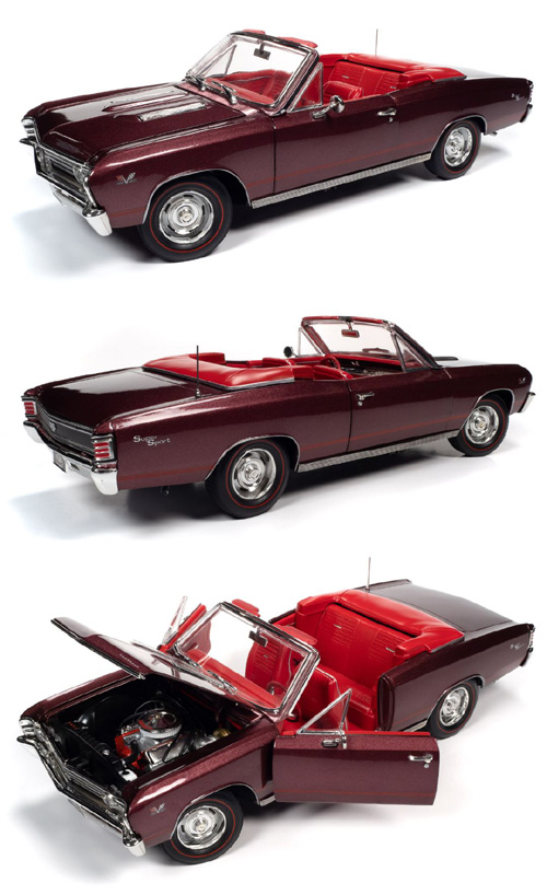 1967 Chevrolet Chevelle SS 396 Convertible,