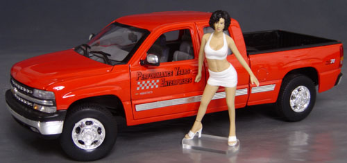 Sarah, Fast Woman, Display her with your favorite car!