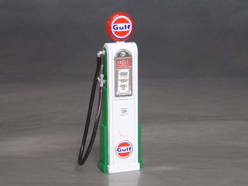 Gulf Gas Pump, 1/18th scale