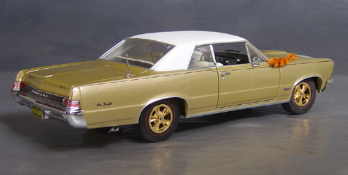 1965 Hurst Edition GTO with White Vinyl Top!
