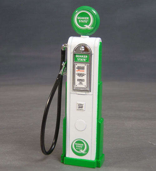 Quaker State Gas Pump, 1/18th Scale