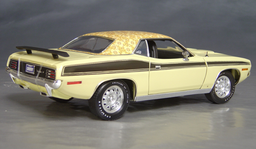 1970 Plymouth Cuda Yellow mod top/black 73/74!