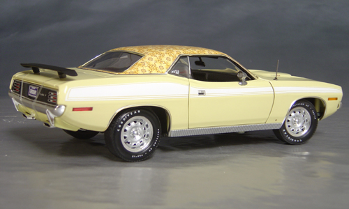1970 Plymouth Cuda Yellow mod top/white 73/74!