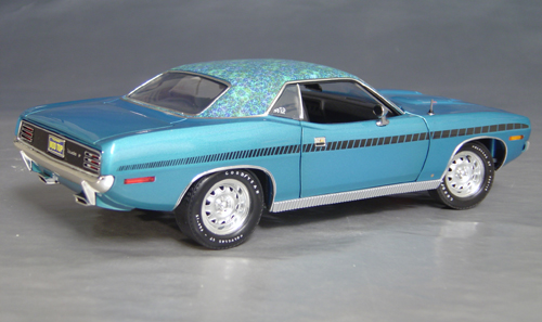 1970 Plymouth Cuda Blue mod top/black strobe!