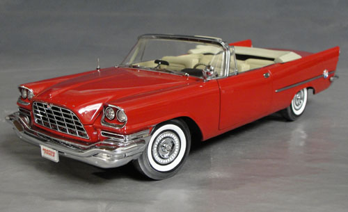 1957 Chrysler 300 C Convertible Regimental Red with Tan Interior!