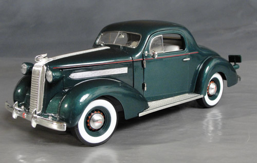 1936 Pontiac Deluxe Coupe Details Diecast Cars Diecast Model Cars