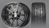 "18"" ""G-Force Pro-Touring"" wheel & tire set"
