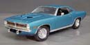 Click image to see more information about our 1970 Plymouth Cuda B5 Blue with blue Mod Top and Chase car