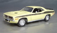 1970 Plymouth Cuda Yellow chase/black 73/74!
