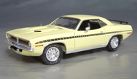 1970 Plymouth Cuda Yellow chase/black strobe!