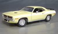 1970 Plymouth Cuda Yellow chase/white 73/74!