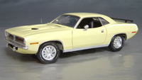 1970 Plymouth Cuda Yellow chase/white hockey!