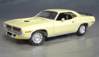 1970 Plymouth Cuda Yellow chase/white strobe!