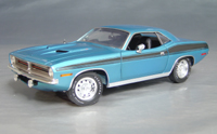 1970 Plymouth Cuda Blue chase/black 73/74-!