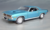 1970 Plymouth Cuda Blue chase/black hockey!