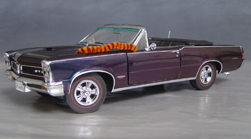 1965 GTO Convertible with Chromalusion Paint!