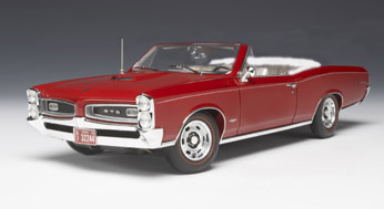 1966 GTO Convertible in Montero Red