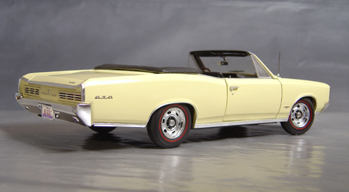1966 GTO Convertible in Candle Light Cream