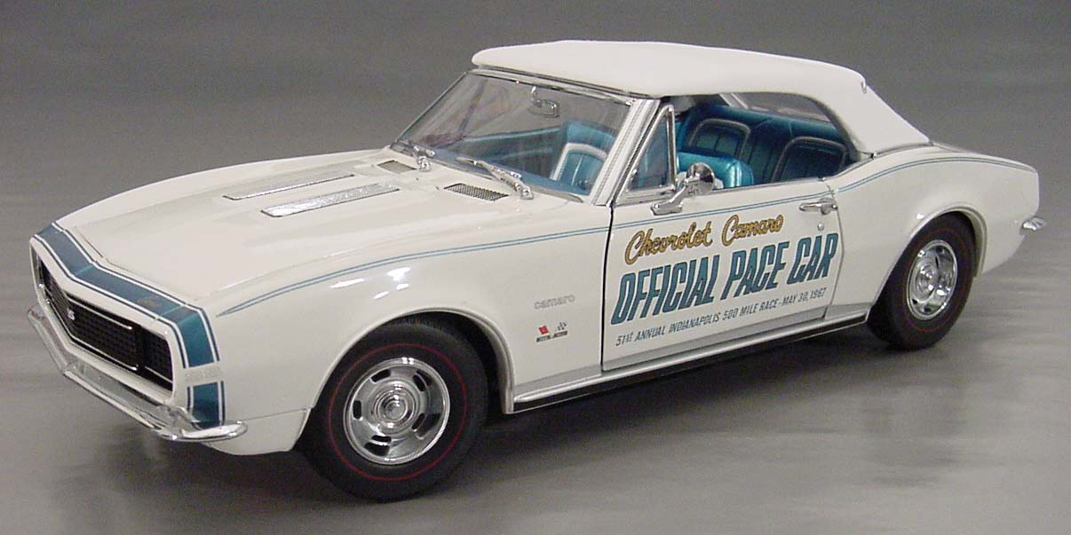 1967 Chevrolet Camaro RS-SS Convertible, Indy Pace Car