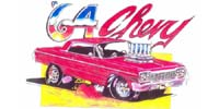 64 Chevy Artwork Print Design